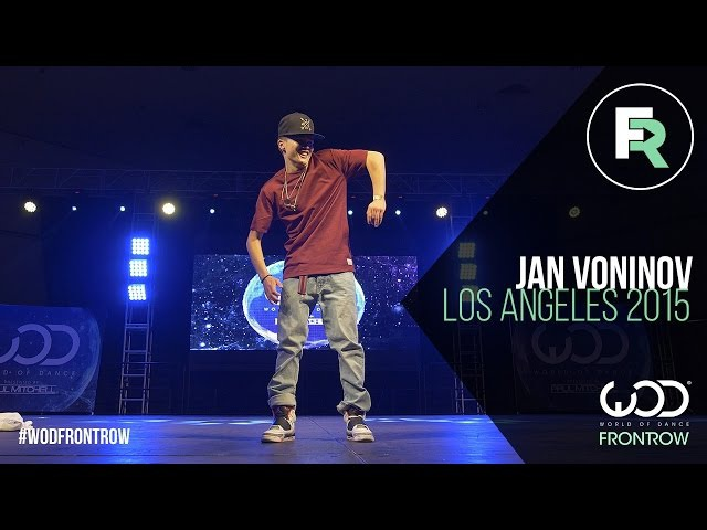 Jan Voinov | FRONTROW | World of Dance Los Angeles 2015 | WODLA15