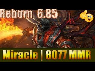 Dota 2 reborn 6 85 Miracle 8077 MMR Doom Ranked Match Gameplay!