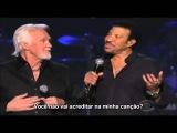 KENNY ROGERS &amp LIONEL RICHIE - LADY- LEGENDADO EM PORTUGU