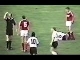 Как Бубнов чуть не убил Руди Фёллера, поймав того с мячом. СССР - Германия (1:0)