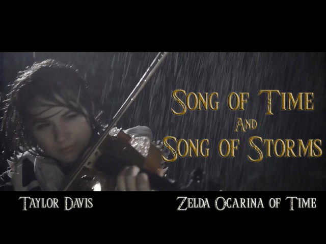 Song of Time and Song of Storms (Zelda OoT) Violin Cover - Taylor Davis