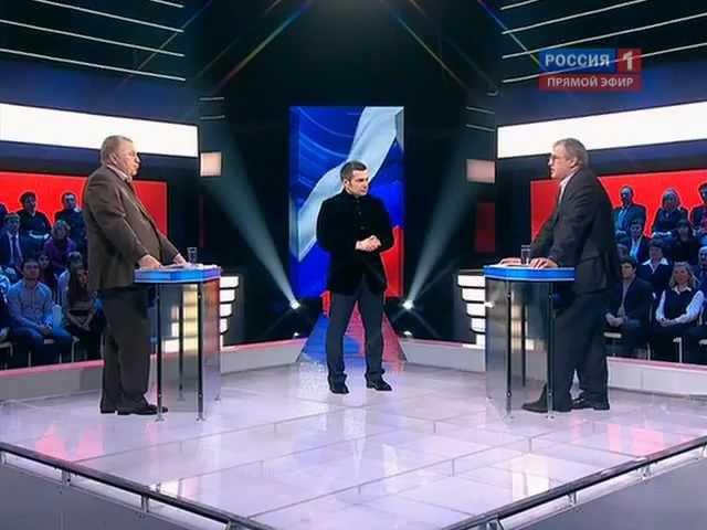 В.В. Жириновский vs В.В. Путин. Дебаты 2012