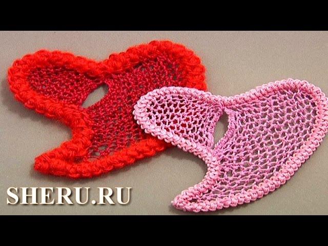 Crochet Romanian Heart Lace Tutorial 60 Румынское или шнурковое кружево