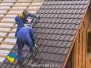 Монтаж крыши из металлочерепицы. Видео инструкция