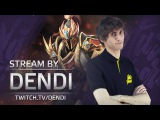 Dota 2 Stream: Na`Vi Dendi - Dragon Knight (Gameplay & Commentary)