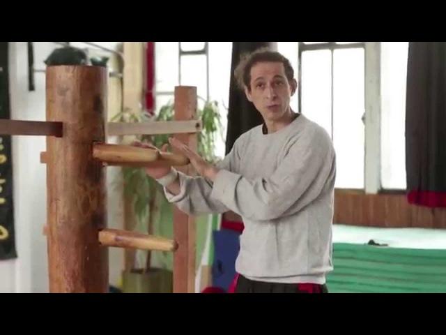 Kung-fu Wing Chun : Chi Sao Wooden Dummy