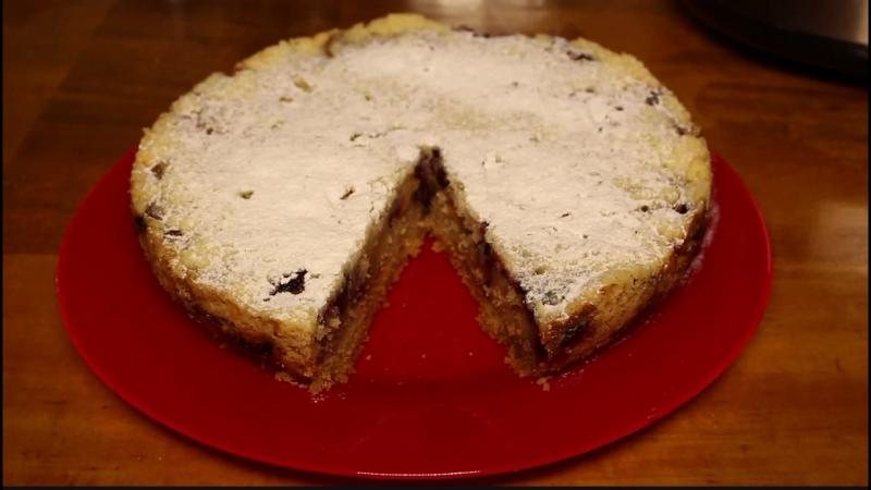 Пирог с вишней в мультиварке редмонд рецепт пошагово