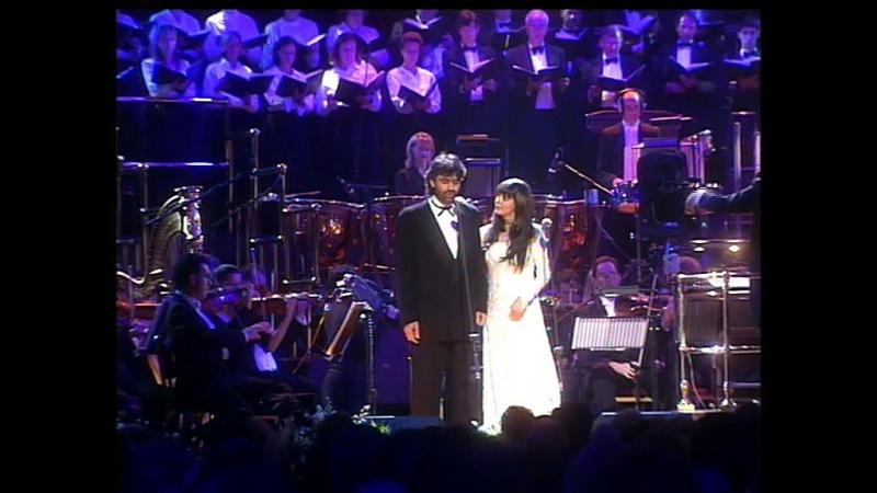 Sarah Brightman Andrea Bocelli - Time to Say Goodbye (Live @ The Royal Albert Hall 1997)