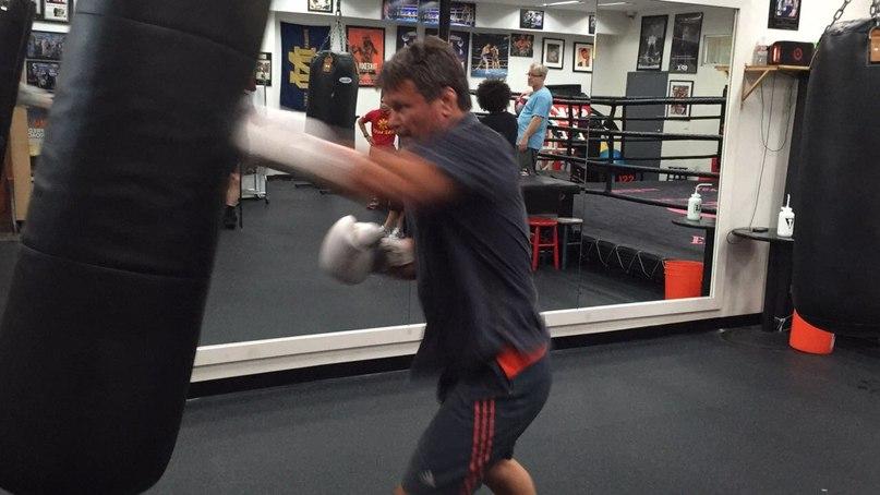 Олег Тактаров в Wild Card Boxing