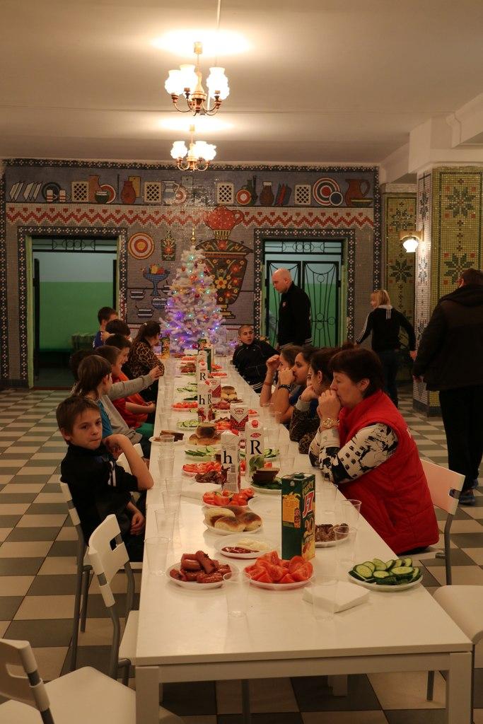 Сладкий стол в Покровском детском доме