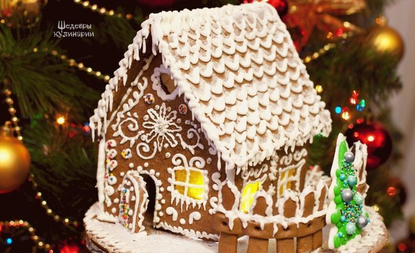 Торт новогодний пень с фото
