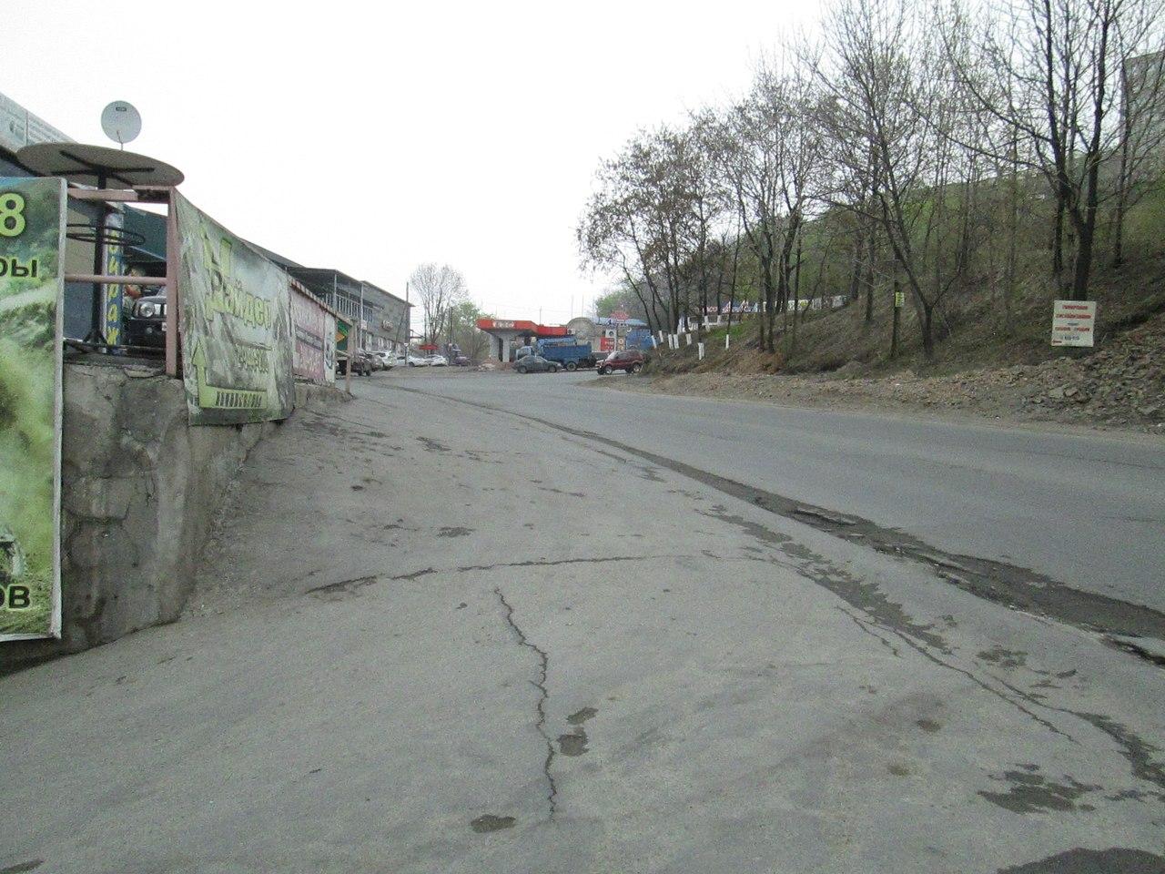 Рельефы Владивостока