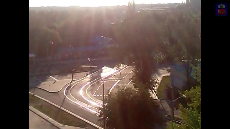 Колонна Т72 из РФ в Донецке_RUS T72 in Donetsk