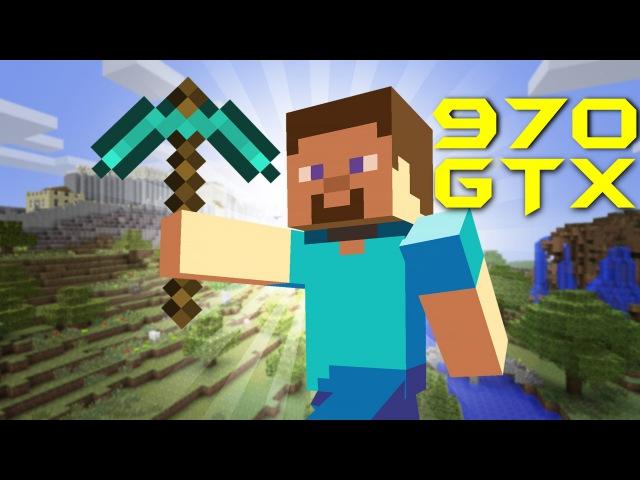 Minecraft 1.8.7 | GTX 970 NON-OC i5 3570k OC 4,2GHz | FRAME-RATE TEST