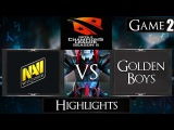 Dota 2 reborn 6 85 Navi vs GB Game 2 Highlights D2CL season 6
