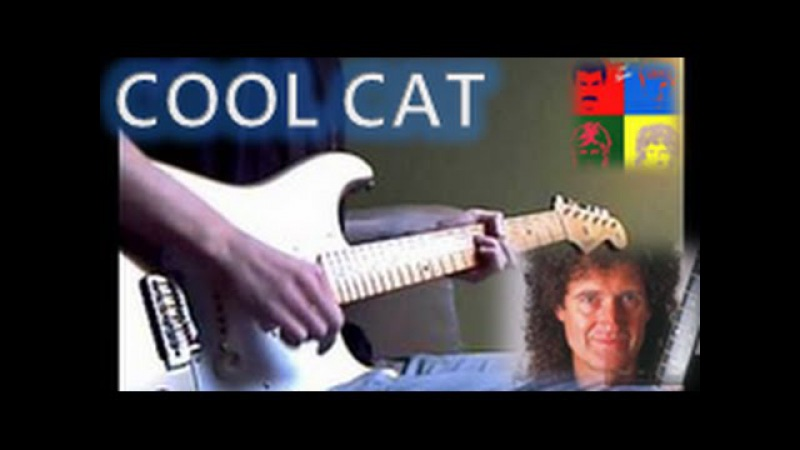 Cool cat - Queen (guitar cover)