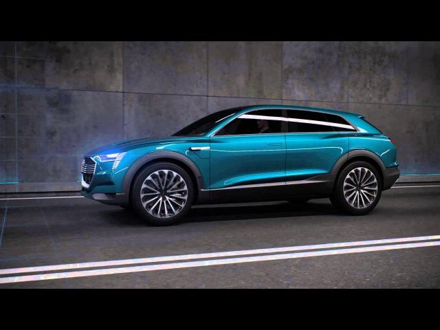 Audi e-tron quattro concept - German Animation - electric SUV