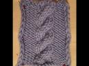 ВЯЗАНИЕ СПИЦАМИ УЗОР КОСА ИЗ ШЕСТИ ПЕТЕЛЬ Вязание для начинающих knitting