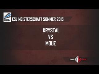 ESL Meisterschaft Sommer 2015: kRYSTAL vs. Mouz