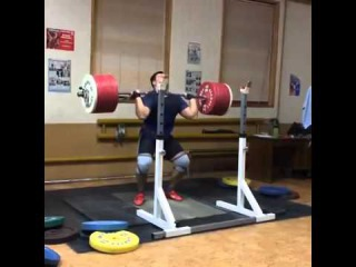 Lovchev Aleksey   jerk 235   Алексей Ловчев   толчок 235 кг