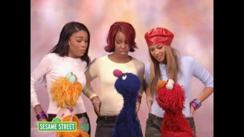 Sesame Street - «A New Way to Walk» with Destiny's Child (2002)