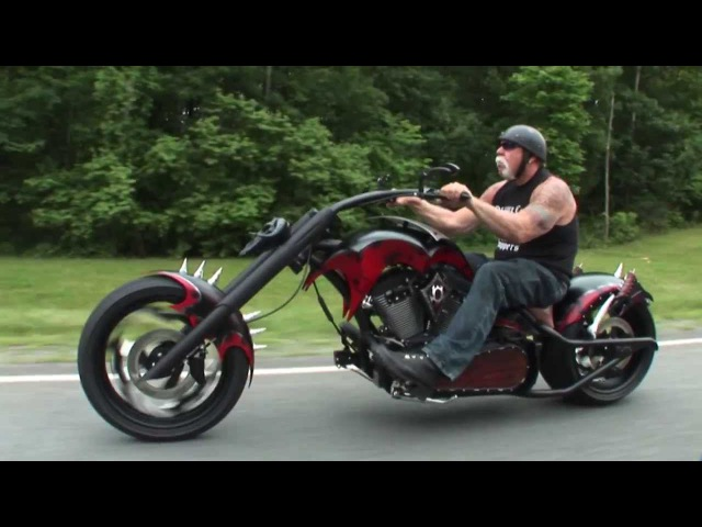 Custom Bad Guys Themed Chopper by OCC