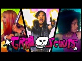 GRRL SCOUTS  A drug-fueled action comedy
