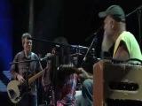 Seasick Steve live with Jack White &amp Alison Mosshart &amp John Paul Jones