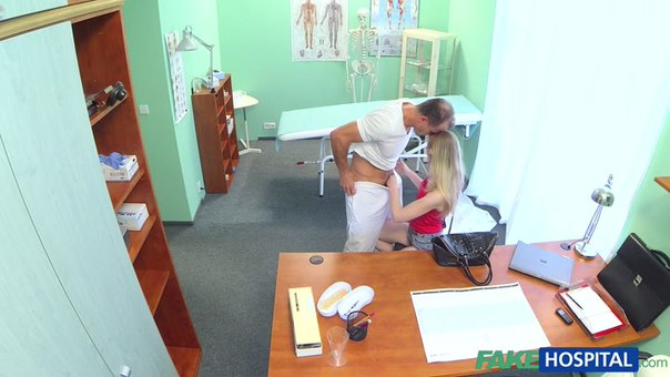 Fake Hospital E166 – Slim Blonde Uses Her Sexy Body And Tongue To Get A Job