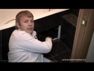 Критерии качества ремонта ванной. Так делать нельзя. Фильм 1