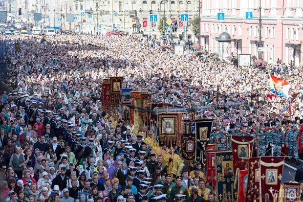 Картинки по запросу крестный ход 12 сентября санкт-петербург