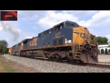 Locomotiva CSX Patinando (Incri