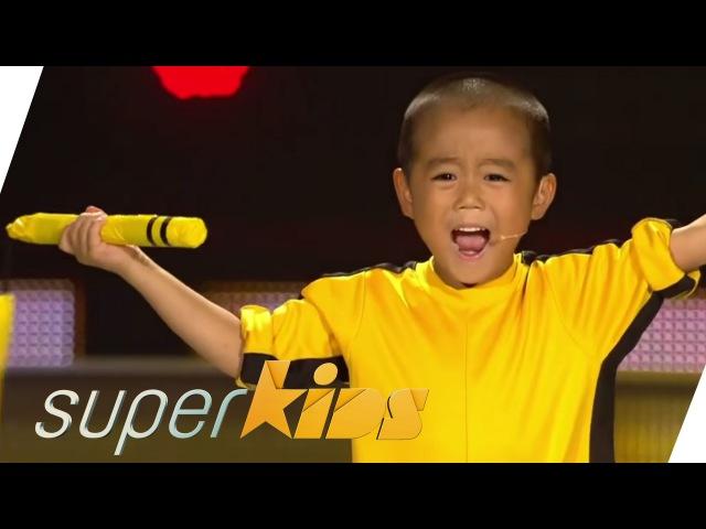 Ryusei Imai: Tiny Bruce Lee - 5yrs old Kung Fu Master   Superkids