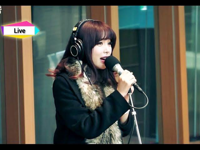 정오의 희망곡 김신영입니다 - Hong jin young - Cheer Up, 홍진영 - 산다는 건 20150108