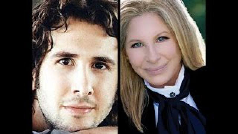 Barbra Streisand with Josh Groban