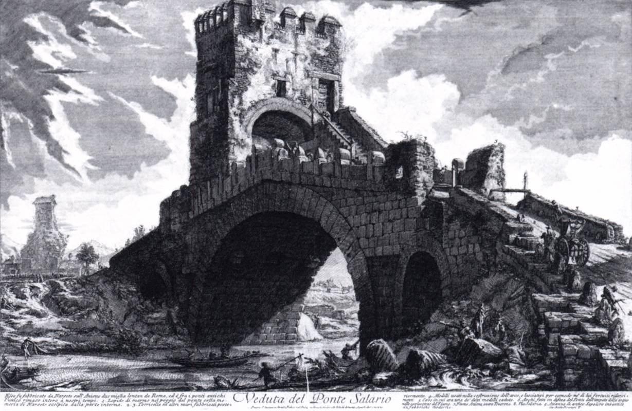 Разрушенный рим в рисунках  Джованни Баттиста Пиранези