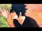клип по аниме наруто-саске и наруто (яой) под песню redfoo_-_let_s_get_ridiculous