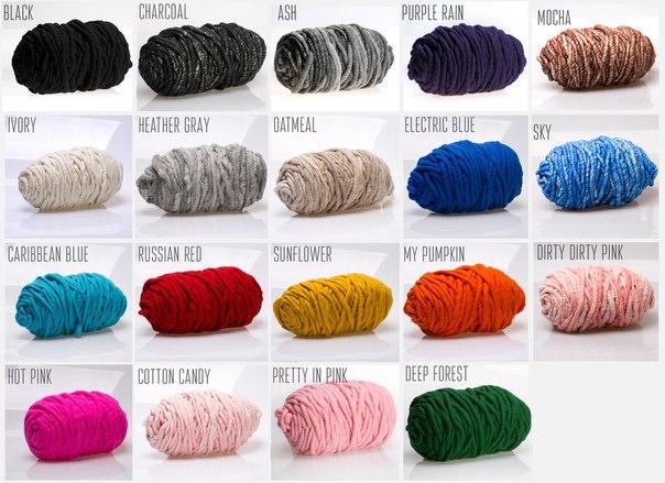 wool mania толстая пряжа