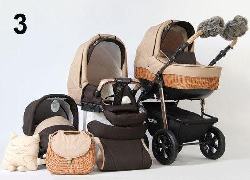 детская коляска 2 в 1 tutis zippy new