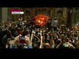 В Храме Гроба Господня в Иерусалиме вновь сошел Благодатный огонь