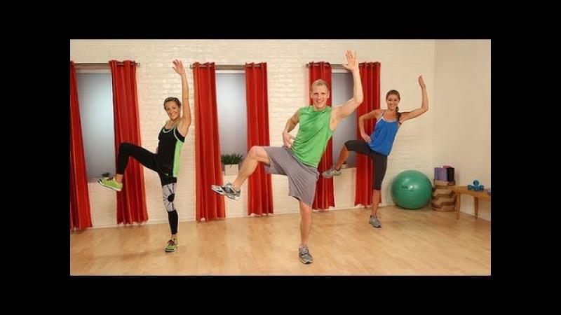 Танцевальная тренировка PlyoJam | Тренировка Сексуальная попка. PlyoJam Dance Workout | Sexy Butt Workout | Class FitSugar