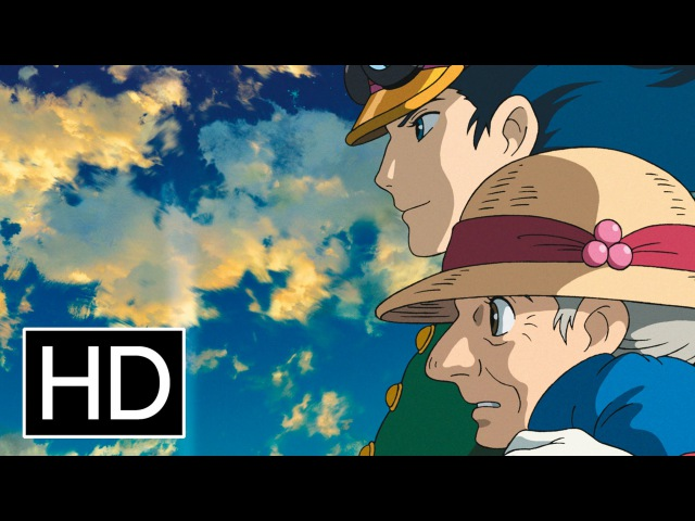 Ходячий замок Howls Moving Castle Hauru no ugoku shiro 2004 Official Trailer