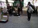 Ребята сыграли цоя на скрипке, гитаре, аккордеоне и барабане