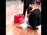 Kai at Beijing airport