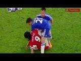 Pelea entre Radamel Falcao y John Terry - Chelsea vs Manchester United (HD)