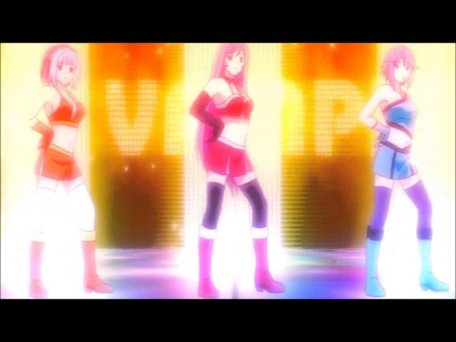 Anime Dance Diva your body my body everybody move your body