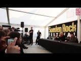 Def Leppard (Joe Elliott &amp Vivian Campbell) Sweden Rock Press Conference(04.06.2015)