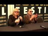 Joe Elliott &amp Vivian Campbell Sweden Rock Press Conference(04.06.2015)