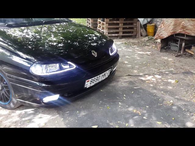 Доработка головного света Renault Laguna 1