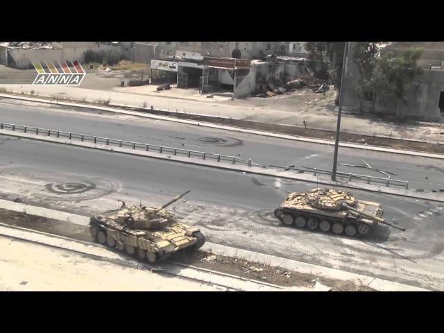 Сирия БМП и Т 72 в бою ( Syria BMP and T 72 in battle)